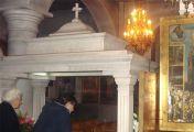 მოსაგრის წმინდა ნაწილნი მასთან რწმენით მისულებს სხვადასხვა სნეულებისგან კურნავს