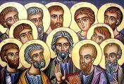 როდის მოინათლნენ მოციქულები და ვის მიერ?