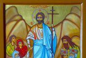 აღდგომის ხატის იკონოგრაფიული თავისებურებანი