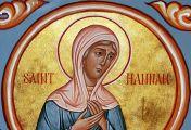 წმიდა ანა წინასწარმეტყველი - დედა სამოელ წინასწარმეტყველისა (1100 ქრისტეს შობამდე) - 9 (22) დეკემბერი