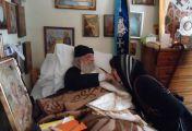 მამა ნექტარიოსს ცოცხლად გამოეცხადა წმინდა ნექტარიოსი
