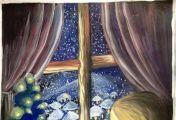 ქრისტეშობას საზოგადოების უმეტესობა ტაძრებში ღამისთევით ეგებება, ნაწილი კი - სახლებში, ფანჯრებთან ანთებული სანთლებით