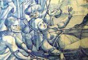 ქეთევან წამებულის წამების სცენა პორტუგალიის დეგრასას საკათედრო ტაძარში
