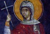 წმინდა მოწამე თეოდოტია (+დაახლ. 230)-ხსენება 17 (30) სექტემბერს