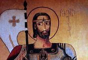 13 დეკემბერს წმინდა მეფე ვახტანგ გორგასლის ხსენებაა