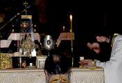 ზეციური სწრაფვის ცეცხლით ანთებული არც დღისით და არც ღამით არ განძღება ღვთისადმი ფსალმუნთა ქების შესხმით და სულიერი საგალობლებით