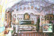 წმინდა იობი ორ წმინდანთან ერთად ლოცვას აღასრულებდა