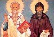 სლავთა განმანათლებლები - წმინდა კირილე და მეთოდე