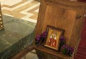 წმინდა ქეთევან წამებულის წმინდა ნაწილებთან მიახლება 1 ივლისამდე ავჭალის წმინდა ქეთევან წამებულის ტაძარში შეგიძლიათ